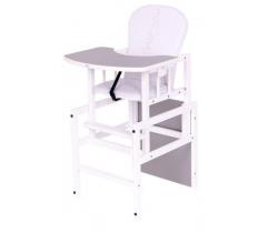 Jídelní židlička Drewex Antos Silver