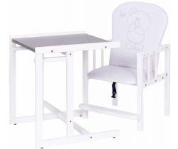 Jídelní židlička Drewex Antos Silver Bear