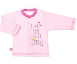 Kabátek Ewa Klucze Petite Pink