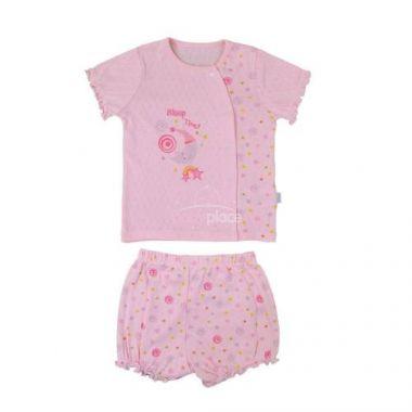 Kabátek+kraťásky Kitikate Dreams Summer Girl D Model Pink
