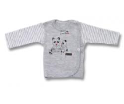 Kabátek Lafel Panda White/Grey