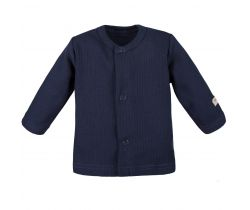 Kabátek dlouhý rukáv Eevi Simply Comfy Navy Blue