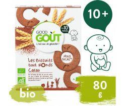 Kakaová kolečka 80 g Good Gout Bio