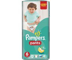 Plenkové kalhotky Pampers Jumbo Pack S6 (15+ kg) 44 ks