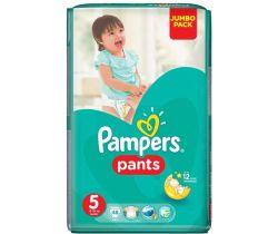 Plenkové kalhotky Pampers Jumbo Pack S5 (12-17 kg) 48 ks