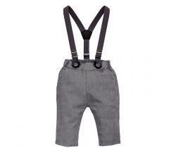 Kalhoty s kšandami Pinokio Prince Grey