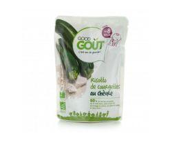 Kapsička cuketové rizoto s kozím sýrem 190 g Good Gout Bio