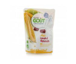 Kapsička kukuřice s kachním masem 190 g Good Gout Bio