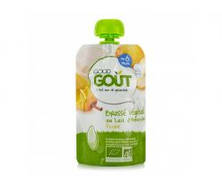 Kapsička mandlový dezert s hruškou 90 g Good Gout Bio