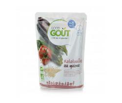 Kapsička Ratatouille s quinoou 190 g Good Gout Bio