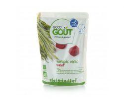 Kapsička zelené fazolky s hovězím masem 190 g Good Gout Bio