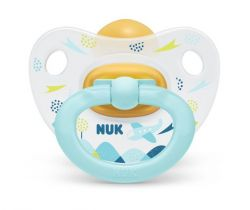 Kaučukové šidítko Nuk Classic Happy Day Aeroplane