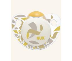Kaučukové šidítko Nuk Trendline Adore Beige