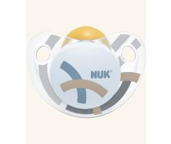 Kaučukové šidítko Nuk Trendline Adore Blue