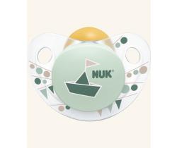 Kaučukové šidítko Nuk Trendline Adore Green