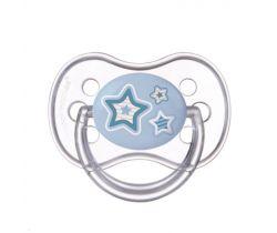 Kaučukový dudlík třešinka Canpol Newborn Baby Blue