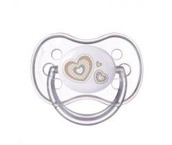 Kaučukový dudlík třešinka Canpol Newborn Baby White