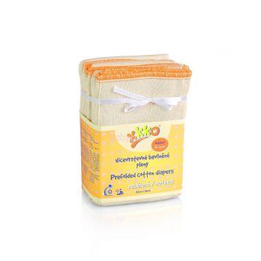 Kikko Natural Infant skládané bavlněné pleny  6ks
