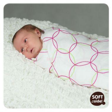Kikko zavinovačka Bambusová linie kolekce Spirals&Bubbles 120x120 cm  1 ks