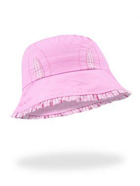 Klobouček Yo Funny Bunny Pink