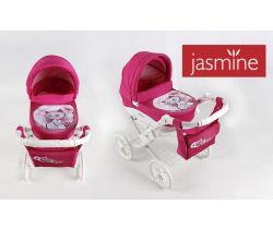 Kočárek pro panenky s potiskem Jasmine Kids