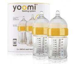 Kojenecká láhev 2 ks 240 ml Yoomi