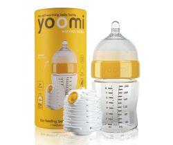 Kojenecká láhev 240 ml, dudlík na láhev Yoomi
