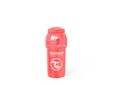 Kojenecká láhev 260 ml Twistshake Anti Colic Pearl