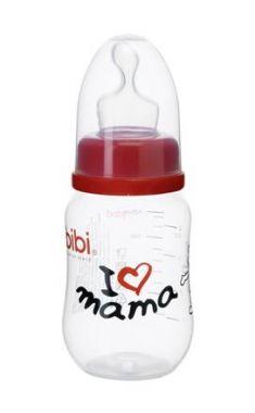 Kojenecká láhev Bibi 120 ml I love Mama