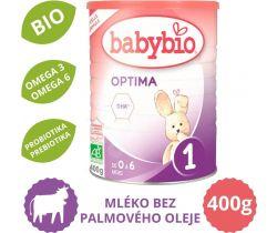 Kojenecké Bio mléko 400 g Babybio Optima 1