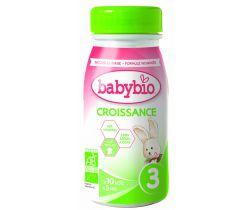Kojenecké mléko 25 cl Babybio Croissance
