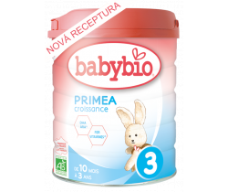 Kojenecké mléko 800 g Babybio Primea Croissance 3