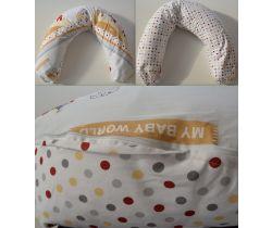 Kojící polštář 170 cm LittleUp Baby World