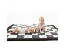 Kontrastní hrací deka 120x140 cm BabySteps