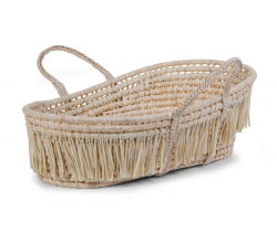 Košík pro miminko Childhome Naural Raffia + Matrace