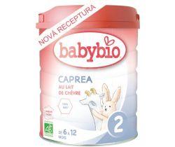 Kozí kojenecké mléko Babybio Caprea 2 800g New