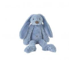 Králíček 38 cm sytě modrý Happy Horse Richie