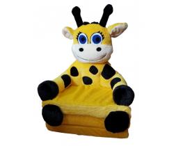 Křesílko 2v1 Smyk Duo Yellow Girafe