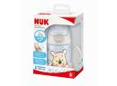 Lahvička na učení s kontrolou teploty NUK FC 150 ml Medvídek Pů