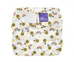 Látková plenka integrovaná v kalhotkách Bambino Mio MioSolo Honeybee Hive