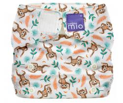 Látková plenka integrovaná v kalhotkách Bambino Mio MioSolo Spider Monkey