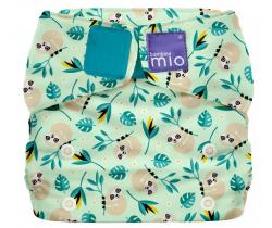 Látková plenka integrovaná v kalhotkách Bambino Mio MioSolo Swinging Sloth
