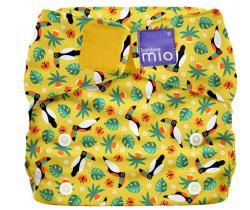 Látková plenka integrovaná v kalhotkách Bambino Mio MioSolo Tropical Toucan