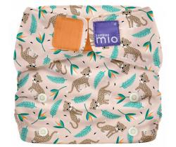 Látková plenka integrovaná v kalhotkách Bambino Mio MioSolo Wild Cat
