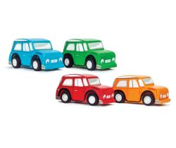 Barevné autíčko 1ks Le Toy Van