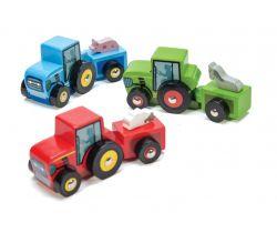 Barevný traktor 1ks Le Toy Van