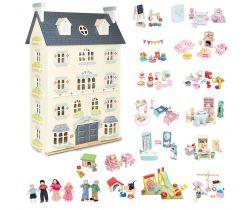 Domeček s vybavením Le Toy Van Ultimate Palace