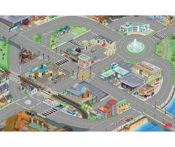 Hrací koberec 80x120cm Le Toy Van PLAYMAT Město
