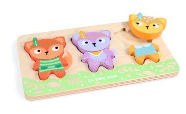 Puzzle Le Toy Van Petilou Malé lišky