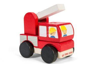 Skládací hasičské auto Le Toy Van